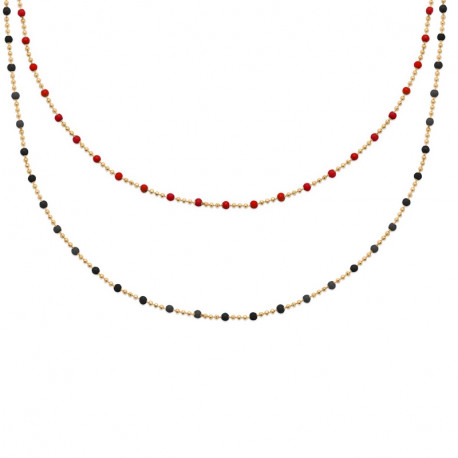 Collier Pl or 750°°°