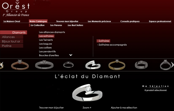 Collection Or et Diamants